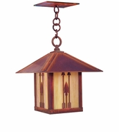 Arroyo Craftsman TRH-9AR Timber Ridge 9 inch Outdoor Pendant with Arrow Filigree