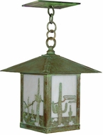Arroyo Craftsman TRH-16CT Timber Ridge 16 inch Outdoor Pendant with Cactus Filigree