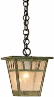 Arroyo Craftsman SH-7 Savannah Craftsman Outdoor Hanging Pendant Light - 7.5 inches wide