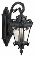 Kichler 9357BKT Tournai Large Textured Black Exterior Sconce - 24 Inches Tall