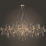 ELK 1723-12 Bijou Rustic 12-Light Chandelier