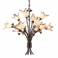 ELK 2213221 Fioritura Rustic 12-Light Chandelier
