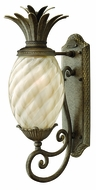 Hinkley 2120-PZ-EST Plantation 22 inch outdoor fluorescent wall sconce in Pearl Bronze