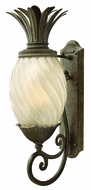 Hinkley 2124-PZ-EST Plantation 28 inch outdoor fluorescent wall sconce in Pearl Bronze