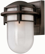 Hinkley 1950-VB-EST Reef 10 3/4 outdoor fluorescent wall sconce in Victorian Bronze