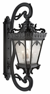 Kichler 9362BKT Tournai XXXL Textured Black 69 Inch Tall Exterior Wall Light Sconce