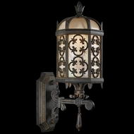 Fine Art Lamps 329881 Costa Del Sol 19.5 inch outdoor wall mount sconce in Marbella wrought iron