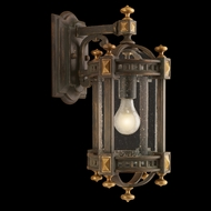 Fine Art Lamps 564581 Beekman Place 13 inch outdoor wall sconce in solid brass