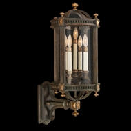 Fine Art Lamps 564781 Beekman Place 32 inch outdoor wall sconce in solid brass