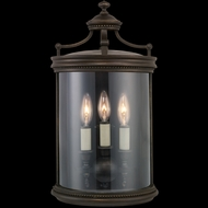Fine Art Lamps 539081 Louvre 20 inch outdoor coupe light in bronze