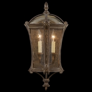 Fine Art Lamps 574781 Gramercy Park 24 inch outdoor coupe light in aged antique gold finish