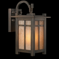 Fine Art Lamps 402181 Capistrano 13 inch outdoor wall sconce in bronze patina