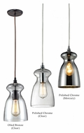 ELK Menlow Park 11 Inch Tall Transitional Mini Drop Lighting Fixture With Finish Options