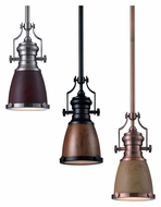ELK 66712-1 Chadwick 8 Inch Diameter Mini Pendant Lighting Fixture With Shade Options