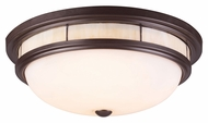 ELK 70014-3 Oiled Bronze Flush Mount Lighting Fixture - Transitional