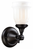 ELK 66211-1 Quinton Parlor 12 Inch Tall Oiled Bronze Sconce Lighting - Transitional