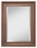 Feiss MR1191AN 40 Inch Tall Acorn Finish Wall Mounted Mirror