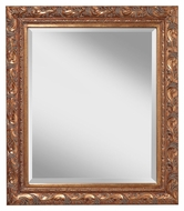 Feiss MR1195AAG 37 Inch Tall Ariana Gold Finish Antique Mirror
