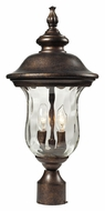 ELK 45023/2 Lafayette Regal Bronze 21 Inch Tall Outdoor Post Lighting - Traditional
