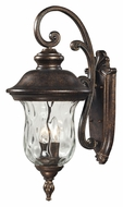 ELK 45022/3 Lafayette Large Regal Bronze Exterior Wall Light Sconce - 27 Inches Tall
