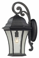 ELK 45052/1 Wellington Park Weathered Charcoal 22 Inch Tall Large Outdoor Lighting Sconce