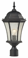 ELK 45054/1 Wellington Park Traditional Outdoor Post Lamp Light