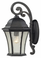 ELK 45051/1 Wellington Park 17 Inch Tall Medium Traditional Outdoor Sconce - Weathered Charcoal