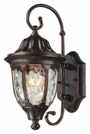 ELK 45002/1 Glendale Small Regal Bronze 14 Inch Tall Traditional Outdoor Sconce