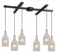 ELK 46005/6 Skylar 33 Inch Wide 6 Lamp Contemporary Multi Drop Lighting