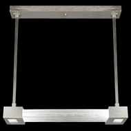 Fine Art 827040 Crystal Bakehouse 29 Inch Wide Modern Island Light Fixture With Crystal Options