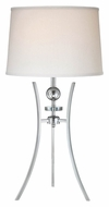 Lite Source LS-22096C Triocof Chrome Contemporary Lighting Table Lamp