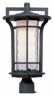 Maxim 30480WGBO Oakville 17 Inch Tall Outdoor Post Lighting Fixture - Black Oxide