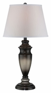 Lite Source LS-22257 Alessa Aged Silver Finish 28 Inch Tall Transitional Table Light
