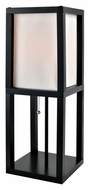 Lite Source LS-22317 Elske Contemporary 22 Inch Tall Black Fluorescent Table Lighting