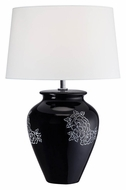 Lite Source LS-22033 Aileen 22 Inch Tall Transitional Ceramic Lamp