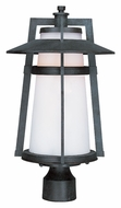 Maxim 3530SWAE Calistoga Outdoor 19 Inch Tall Adobe Finish Post Lamp