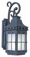 Maxim 86084FSCF Nantucket EE Medium Country Forge 23 Inch Tall Outdoor Wall Lamp - Fluorescent