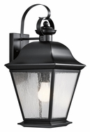 Kichler 9709BK Mount Vernon Large 19 Inch Tall Black Outdoor Wall Lighting