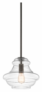 Kichler 42044OZ Everly 12 Inch Diameter Olde Bronze Transitional Drop Lighting