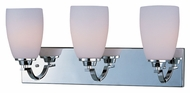 Maxim 20028SWPC Rocco 22 Inch Wide Polished Chrome Transitional Vanity Lighting