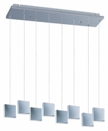 ET2 E22264-61PC Brick 8 Lamp LED Moder Multi Lighting Pendant
