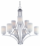 Maxim 20036SWSN Deven Large Transitional Oil Rubbed Bronze Lighting Chandelier