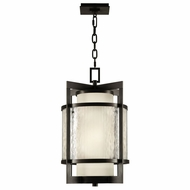 Fine Art 817482 Singapore Outdoor 14 Inch Diameter Dark Bronze Hanging Lamp - Modern