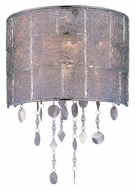 Maxim 21569TWPN Allure 14 Inch Tall Modern Wall Lighting Fixture - Polished Nickel