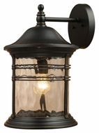 ELK 08163-MBG Madison Large Matte Black 18 Inch Tall Exterior Sconce Lighting