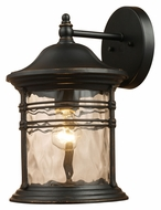 ELK 08161-MBG Madison Small Transitional 11 Inch Tall Outdoor Wall Lighting