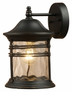 ELK 08162-MBG Madison Medium 14 Inch Tall Outdoor Lighting Sconce - Matte Black