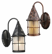 ELK 381 Rustica Small 14 Inch Tall Transitional Outdoor Wall Light Fixture