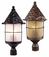 ELK 389 Rustica Transitional 26 Inch Tall Post Lighting - Outdoor