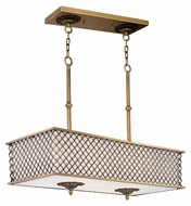 Maxim 22365OMNAB Manchester 8 Lamp 35 Inch Wide Traditional Kitchen Island Light